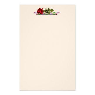 Rose Stationary Stationery Design