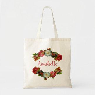 Rose Swag Tote Bag