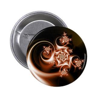 Rose swirl pin