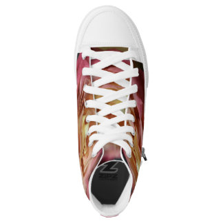 Rose Tennis Shoes Printed Shoes