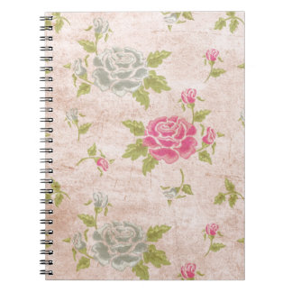 rose_texture_leaves_flowers notebook