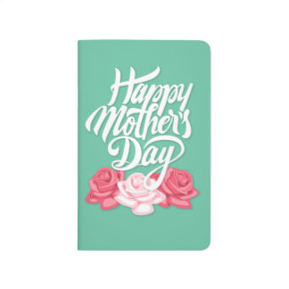 rose typography mother day journal