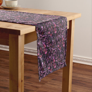 Rose Water Short Table Runner