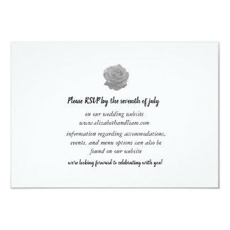 Rose Wedding Response Card