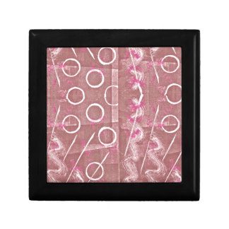 Rose White Abstract Gift Box