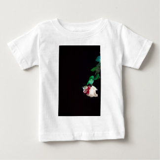 Rose white blood red side baby T-Shirt