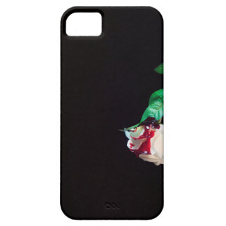 Rose white blood red side iPhone 5 case