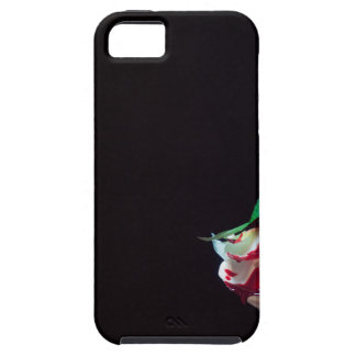 Rose white blood red side iPhone 5 cover