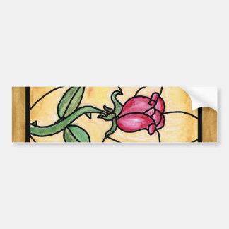 Rose Window Bumper Sticker