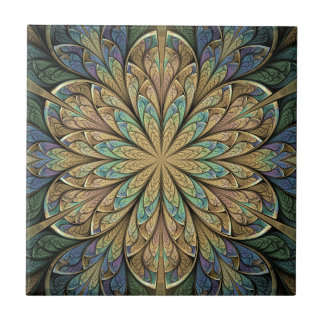 Rose Window Ceramic Tile