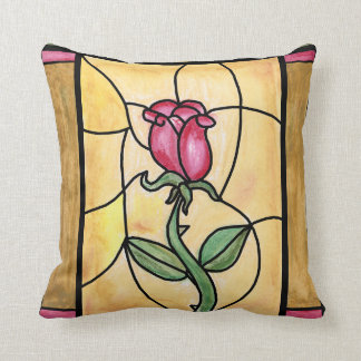 Rose Window Pillow