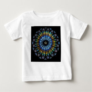 rose window strasbourg cathedral baby T-Shirt