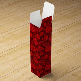 rose wine gift box