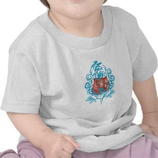 Rose With Desgin Tee Shirt