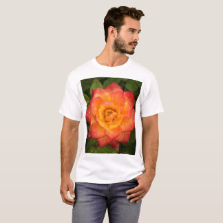 Rose with water drops T-Shirt