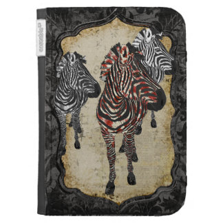 Rose Zebra Shadows Case Kindle Covers