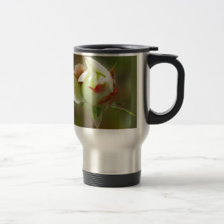 rosebud glowing travel mug