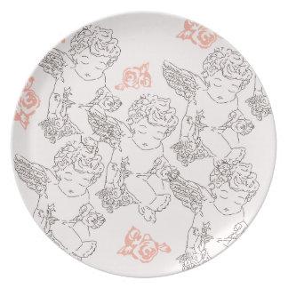 Rosebud Plate