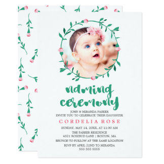 Naming Ceremony Invitations & Announcements | Zazzle.com.au