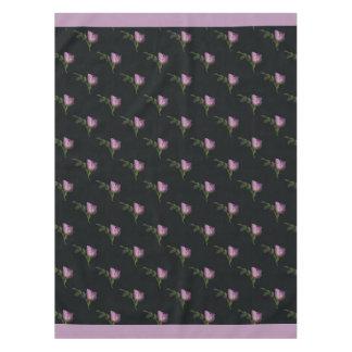 "Rosebuds Cotton Tablecloth, 52""x70"" Tablecloth"