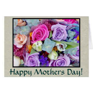 Rosebuds Mothers Day Card
