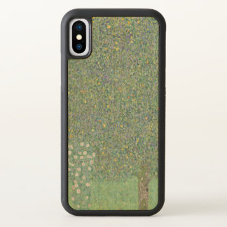 Rosebushes Under the Trees Gustav Klimt GalleryHD iPhone X Case