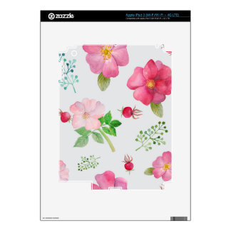 Rosehip Flower iPad 3 Skins