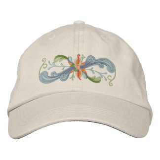 Rosemaling Embroidered Hat