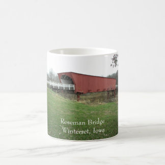 Roseman Bridge Winterset, Iowa Coffee Mug