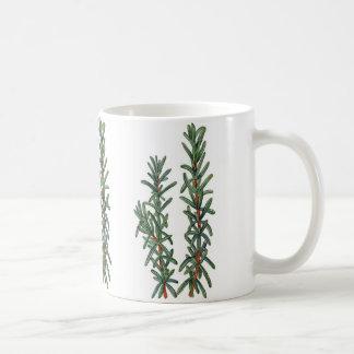 Rosemary Basic White Mug