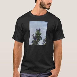 Rosemary plant with flowers against the sky T-Shirt