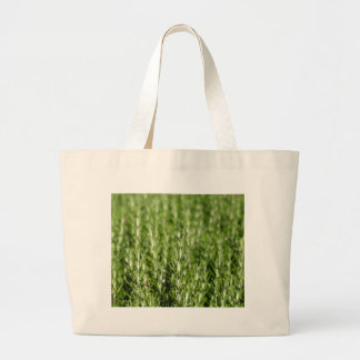 Rosemary (Rosmarinus officinalis) branches Large Tote Bag