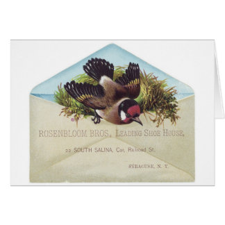 Rosenbloom Bros Shoes Greeting Card