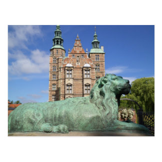 Rosenborg Palace, Copenhagen, Denmark Postcard