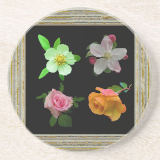Roses And Blossoms Coaster