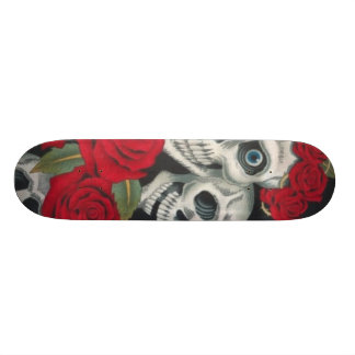 Roses and Death Skateboard
