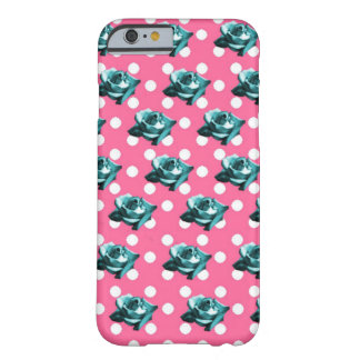 Roses and Dots 2 Barely There iPhone 6 Case