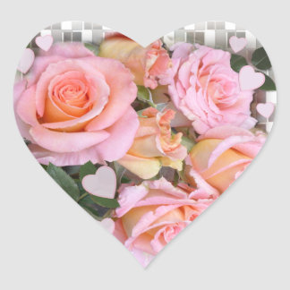 Roses and Hearts ~ Heart Sticker