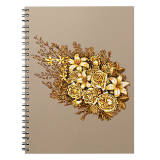 Roses and Hibiscus Notebooks