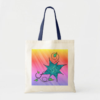 Roses and Ice Tote Bag