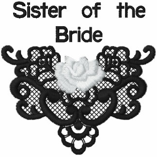Roses and Lace -  Sister of Bride