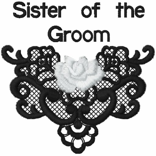 Roses and Lace -  Sister of Groom