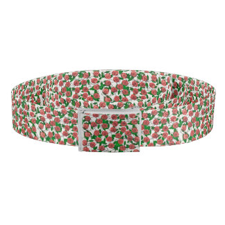 Roses and Leaves Belt