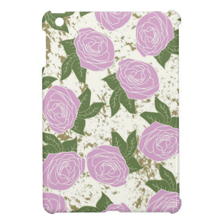 roses and peeling paint case for the iPad mini