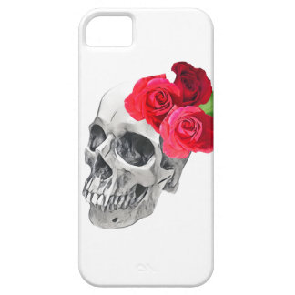 Roses and Skull iPhone 5 Cover