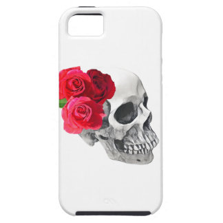 Roses and Skull Tough iPhone 5 Case