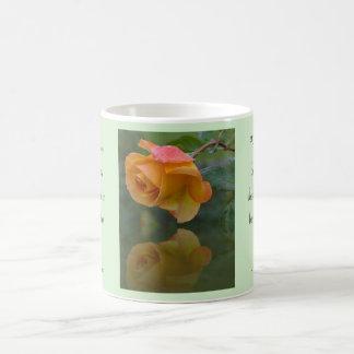 Roses and Thorns Inspirational Mug Basic White Mug