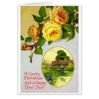 Roses and view card