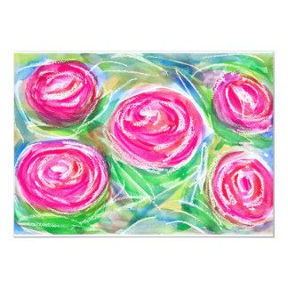 Roses are Bright Again 13 Cm X 18 Cm Invitation Card