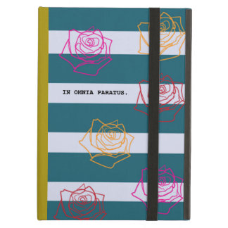 Roses Are Colorful iPAD Case in Ocre Yellow